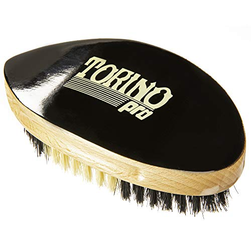 Torino Pro Wave Brushes By Brush King #45 updated version- Medium Curve Palm brush - Pointy to work the swirl or beehive - For 360 Waves