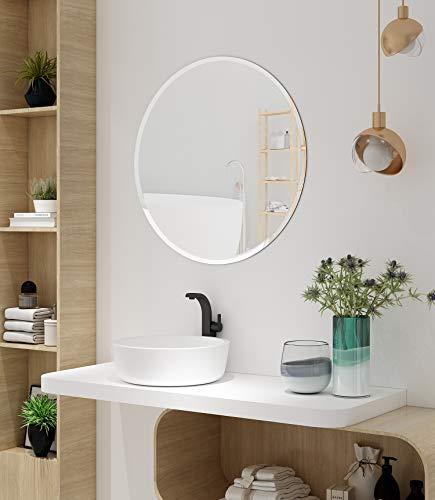 espejo sin marco redondo de la marca KOHROS