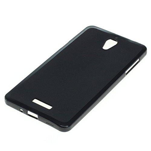 Dark Hülle Handy Tasche für Coolpad Modena 2 Schutzhülle Hülle schwarz matt