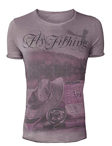 Hotspot Design TS-TF01003S05 Fly Fishing T-shirt vintage Taille XXL