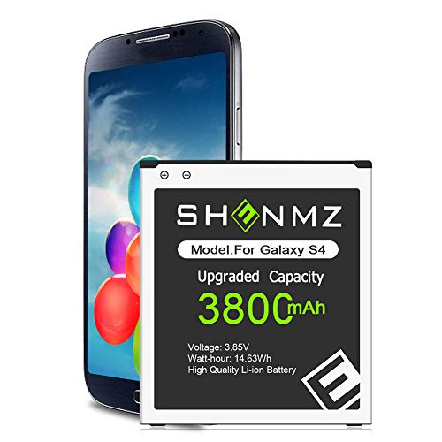 Galaxy S4 Battery,[Upgraded] 3800mAh Li-Polymer EB-B600BE Replacement Battery for Samsung Galaxy S4,AT&T I337,Verizon I545,Sprint L720,T-Mobile M919,R970,I9500,I9505,LTE I9506