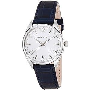 Hamilton Reloj Analogico para Mujer de Cuarzo con Correa en Cuero H42211655