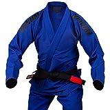 VENUM Contender EVO Kimono De Jiu Jitsu Brasileño/BJJ Gi, Unisex Adulto, Azul Royal, A4