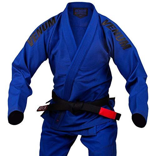 VENUM Contender EVO Kimono De Jiu Jitsu Brasileño BJJ Gi, Unisex Adulto, Azul Royal, A3.5