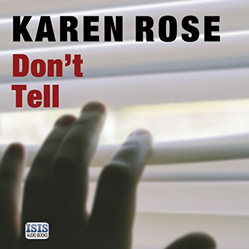Don't Tell audiobook cover art