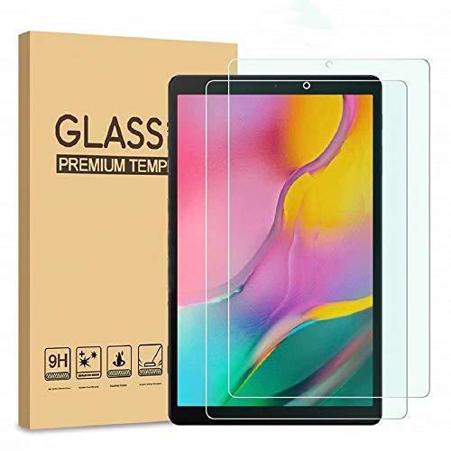 FTRONGRT Protector de Pantalla para Samsung Galaxy Tab A7 Lite, Vidrio Templado.(Ultralight)(Alta dureza) (Fácil instalación)-Transparente (2 Pieza)