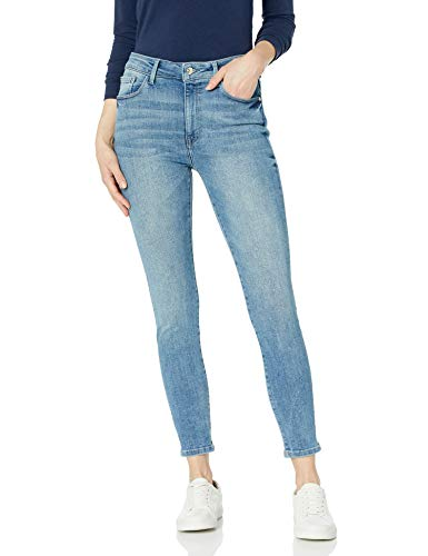 Madison Denim Women's Parsons High Rise Ankle Jean Power Stretch 27 Sunset
