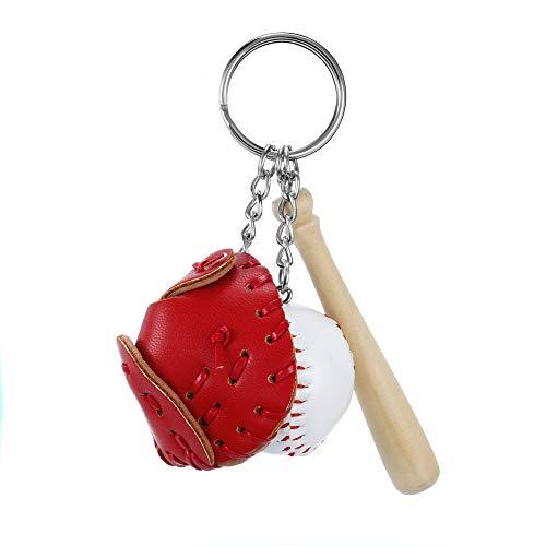 KENYG Baseball-Anhänger mit kreativer Simulation, Schlüsselanhänger, Taschenzubehör, Modeschmuck