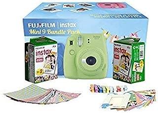 FujiFilm Instax Mini 9 Bundle Pack (Lime Green)