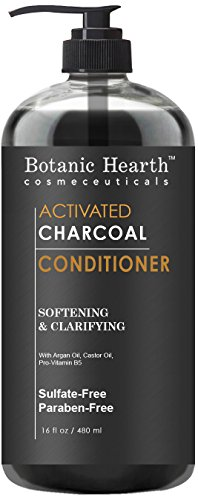 Botanic Hearth Charcoal Hair Conditioner, Sulfate Free 16 fl oz