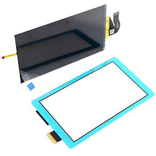 Deal4GO LCD-Display mit Touchscreen-Digitizer, Frontscheibe, Außenlinse, Modul-Kit für Nintendo Switch Lite (türkis)