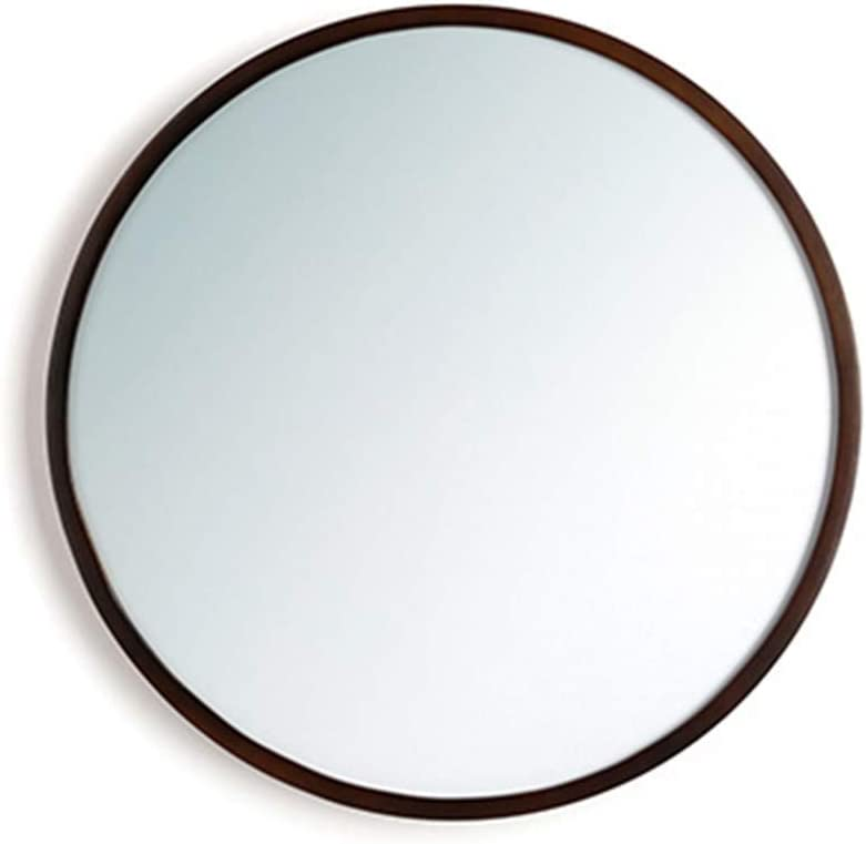 YMLSD Limited price sale Mirrors Round Wall Mirror with Modern All stores are sold Dec Room Wood Frame