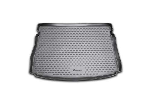 Element Exp.NLC.51.44.B11 Tronco Bagagliaio Vasca Baule Antiscivolo Premium su Misura VW Golf MK7 VII / MK8 VIII 2012-2020 Due Volumi Hatchback, Nera, Personalizzati
