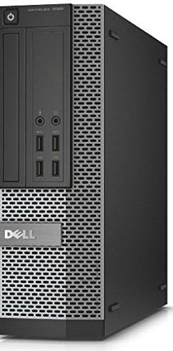 Dell OptiPlex 7020 SF - Ordenador de sobremesa (Intel Core-i3 4150, 3,5 GHz, 4 GB RAM, Disco Duro de 500 GB, DVD, Win 7 Pro), Color Negro