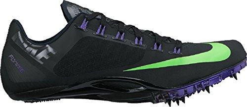 Nike Zoom Superfly r4, Zapatillas de Running para Hombre, Negro (Negro (Black/Green Strike-Fierce Purple), 46 EU