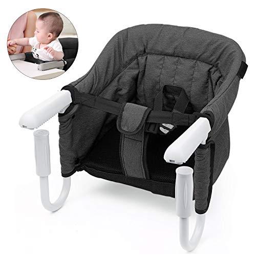 STEO Chaise Haute pour Bébé Enfant Siège, avec Ceinture De Sécurité, Stable, Sûre, Facile à...