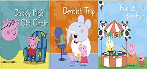 Storybook Collection: Daddy Pig's Old Chair, Dentist Trip and Fun at the Fair (English Edition)