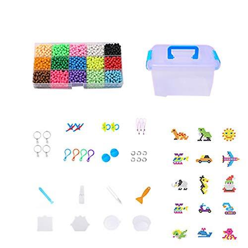 Juguetes de Madera Jigsaw - DIY de los niños del Molde Magia de Agua de Bolas de Juguete Animal Hecha a Mano Infantil de Chicas Puzzle Puzzle Niños y Frijoles niños.