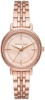 Michael Kors Women's MK3643 Cinthia Rose Gold-Tone Watch