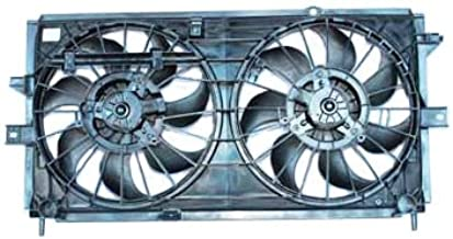 TYC 620380 Chevrolet Replacement Radiator/Condenser Cooling Fan Assembly