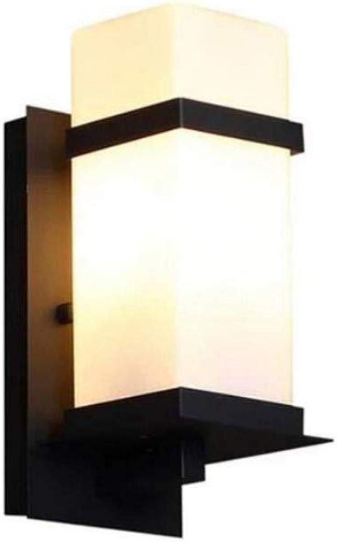 Retro Lichtwaterproof kreative Landschaftslampe im Freien moderne minimalistische Gemeinschaftslandhaus-Park-Wandlampe
