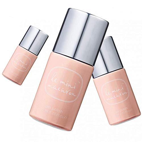 Le Mini Macaron • Vernis à Ongles UV 3 en 1 • Nail Gel Semi-Permanent • Séchage LED • Nude Couleur Beige Leger • 10ml