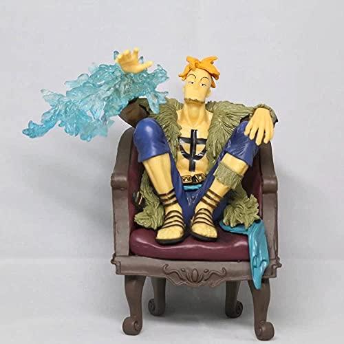 One Piece One Piece Award de Ichiban C Premio Phoenix Bird Marco Marco Anime Figure Asiento Sofá Sofá 10 cm (3 94IN) / Estatua estática de PVC / Una colección preferida de Anime y Otaku Fans