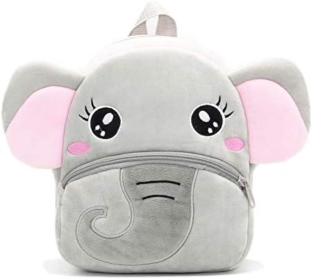 Nice Choice Cute Toddler Backpack Toddler Bag Plush Animal Cartoon Mini Travel Bag for Baby product image