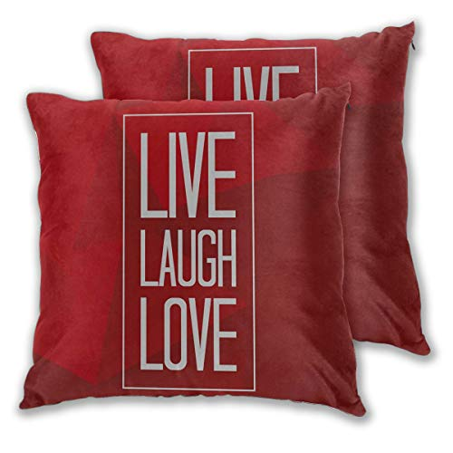 LISNIANY Cushion Cover,Quote Motivation Boost Print,Pillow Case Cover Square Cushion Cover for Sofa Car Home Bed Decor 45 x 45cm
