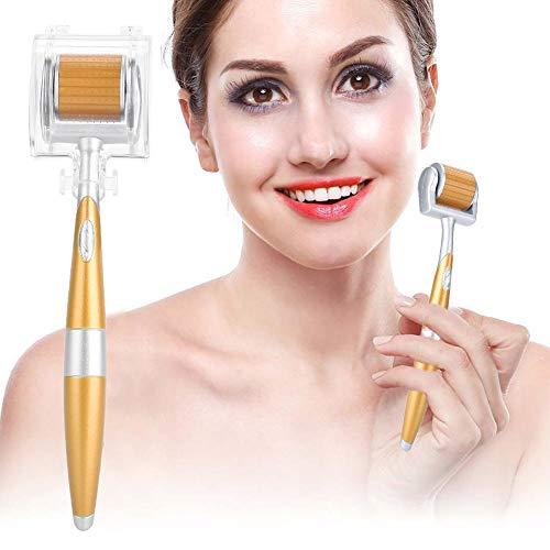 Derma Roller 0.5mm Face Micro Needle Roller Home Needling Beauty Tool - Promover Eficazmente La Absorción De Productos Para El Cuidado De La Piel, Antienvejecimiento, Piel Firme,Quitar La Espinilla