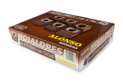 ALONSO - Hojaldres Miguelitos de Astorga con Cacao de ALONSO