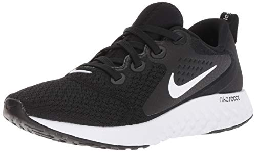 Nike Rebel React Scarpe Sport Donne Nero/Bianco - 38 - Running/Trail