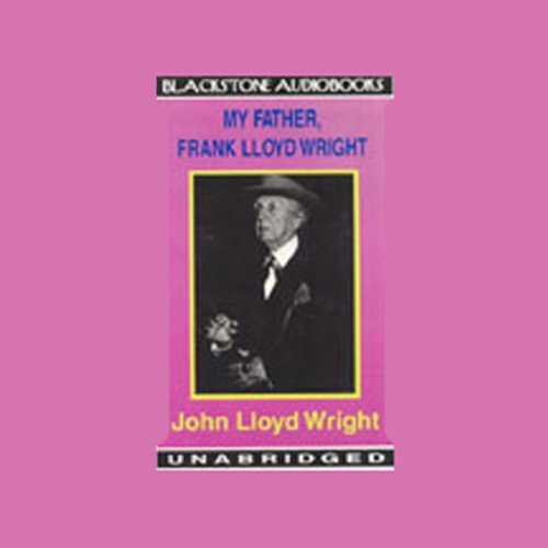 『My Father, Frank Lloyd Wright』のカバーアート