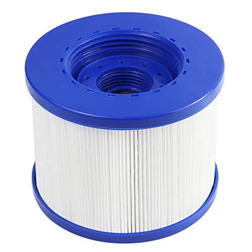 Metikkeer Superior Spa Whirlpool Spa Filter, Filterpatrone für Lazy Spa Springs, Whirlpool-Filterreiniger für Aqua Spa/Be Spa/Ospazia/Hesperide/Sunbay