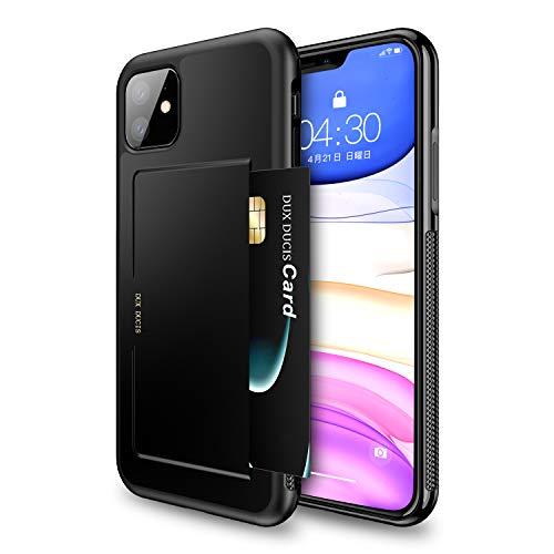 iPhone 11 ケース 6.1インチ Hokonui 2019最新版 ICカード収納 軽量 耐衝撃 全面保護 落下防止 アイフォン1...