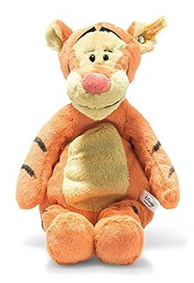 "Steiff Disney Soft Cuddly Friends Tigger 12"", Premium Stuffed Animal, Orange/Beige from Steiff"