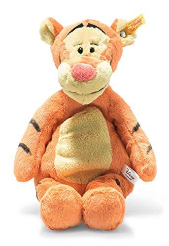 Steiff Tigger de Winnie The Pooh Soft Cuddly Friends Disney Originals Tigger - Peluche de 30 cm para niños, Suave y Lavable, Color Naranja/Beige (024535)