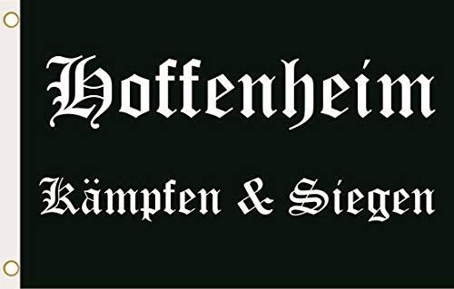 U24 Flagge Fahne Hoffenheim Kämpfen & Siegen 90 x 150 cm