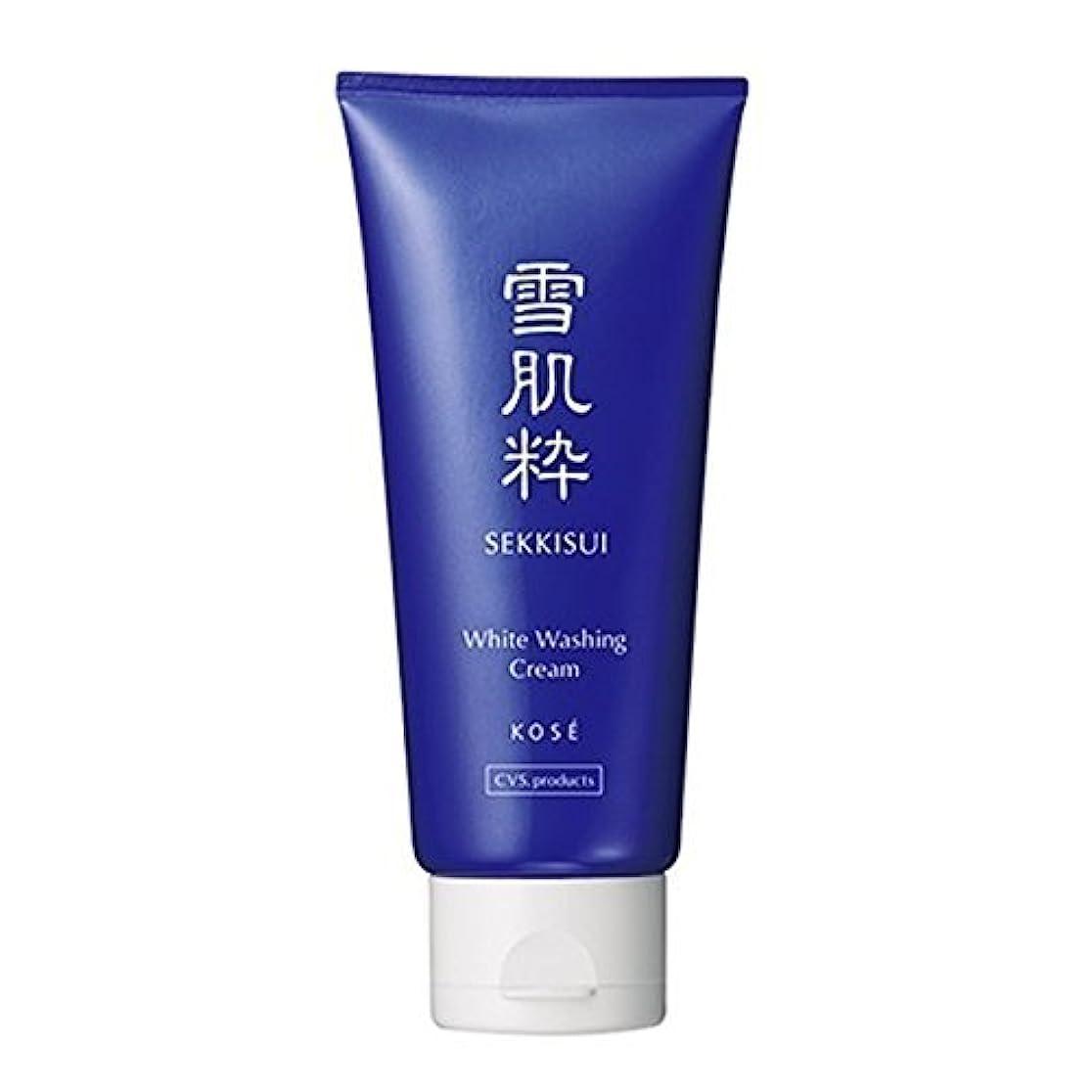 校長貨物十億コーセー 雪肌粋 ホワイト洗顔クリーム Kose Sekkisui White Washing Cream 80g×3本