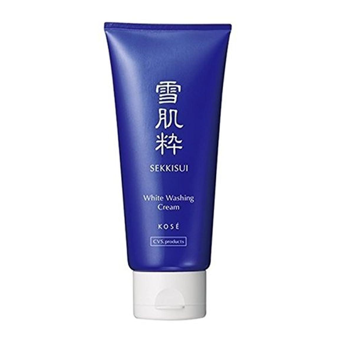 廃止するたくさん元気コーセー 雪肌粋 ホワイト洗顔クリーム Kose Sekkisui White Washing Cream 80g×3本