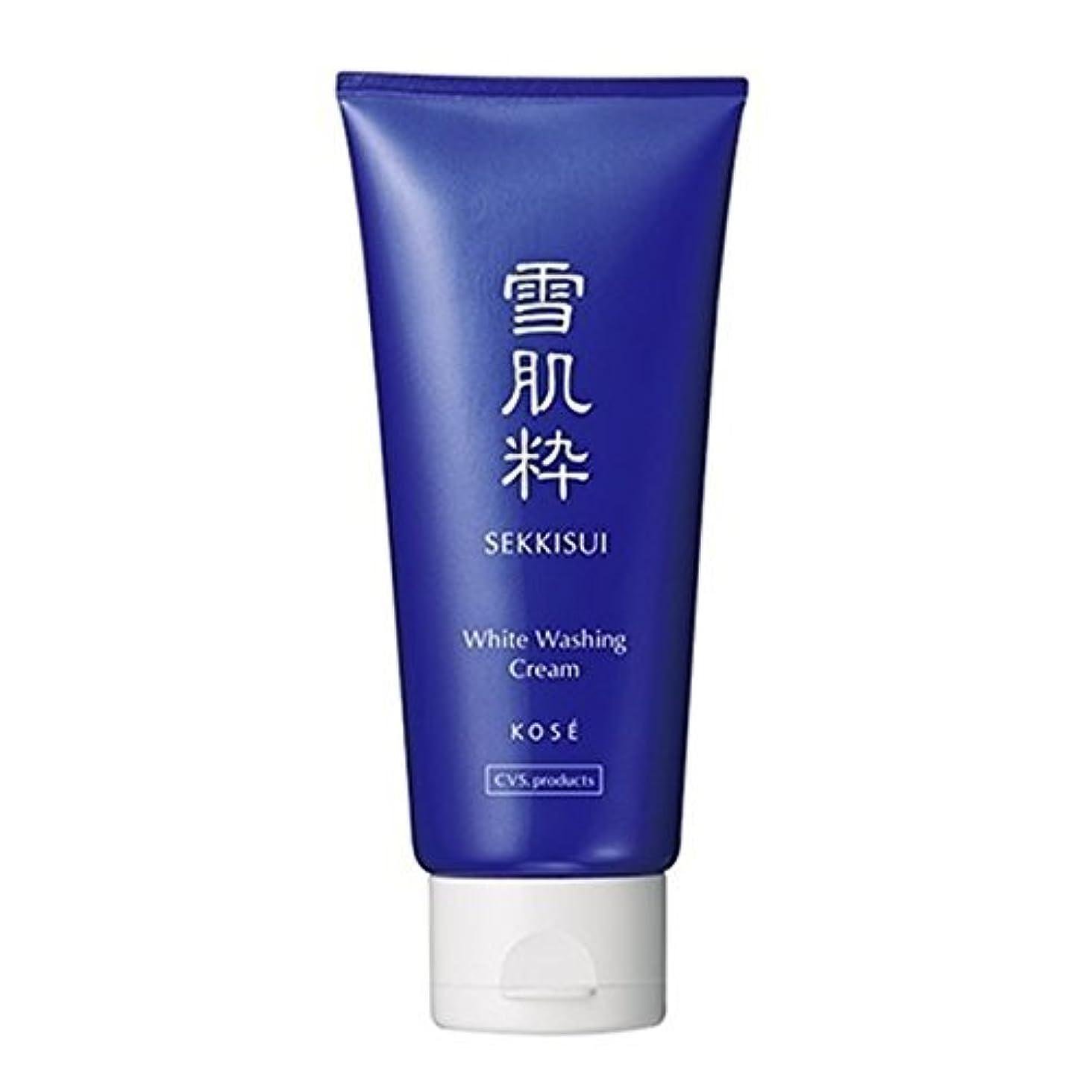 昨日未亡人維持するコーセー 雪肌粋 ホワイト洗顔クリーム Kose Sekkisui White Washing Cream 80g×3本