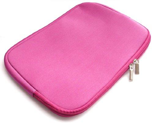 Emartbuy® Odys Mira 7 Inch Tablet PC Hot Rosa WasserfestNeoprenweichZipTascheHülleSleeve ( 7 Inch eReader / Tablet / Netbook )