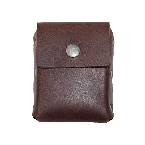 Hide & Drink, Leather Waist Wallet, Holds Up to 20 Cards / Folded Bills / Coins / Charging Cable / Travel / Organizer, Handmade Includes 101 Year Warranty :: Bourbon Brown