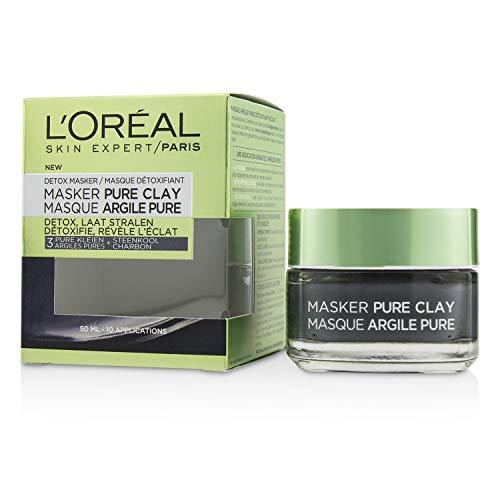 Loreal Pure Clay Masker Detox, 50 ml