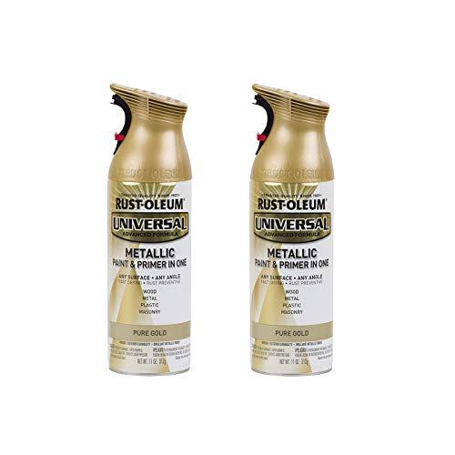 Rust-Oleum 245221A2 Universal All Surface Metallic Spray Paint, 11 Ounce (Pack...