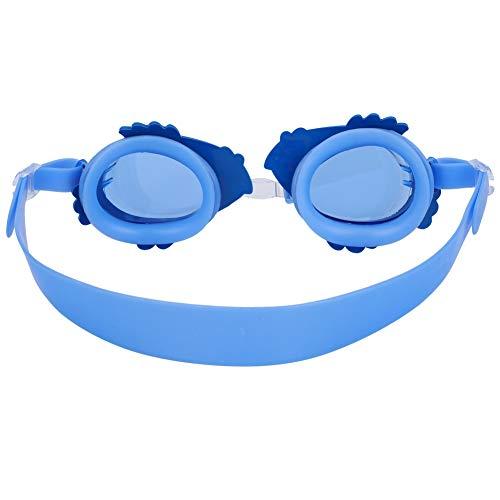 FEYV Occhialini da Nuoto, occhialini da Nuoto Impermeabili Regolabili, Anti-Lente per Bambini Bambini