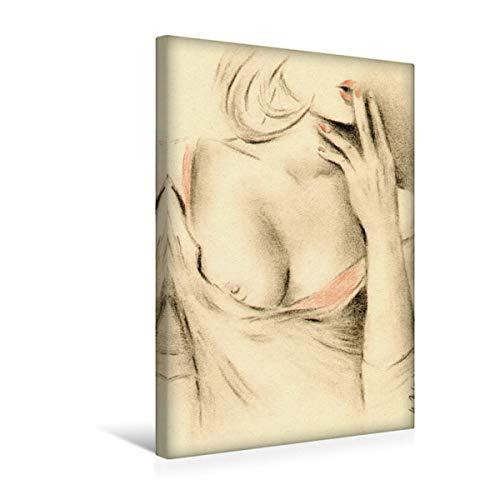 Premium Textil-Leinwand 30 x 45 cm Hoch-Format Schöne Aphrodite der Moderne | Wandbild, HD-Bild auf Keilrahmen, Fertigbild auf hochwertigem Vlies, Leinwanddruck von Marita Zacharias