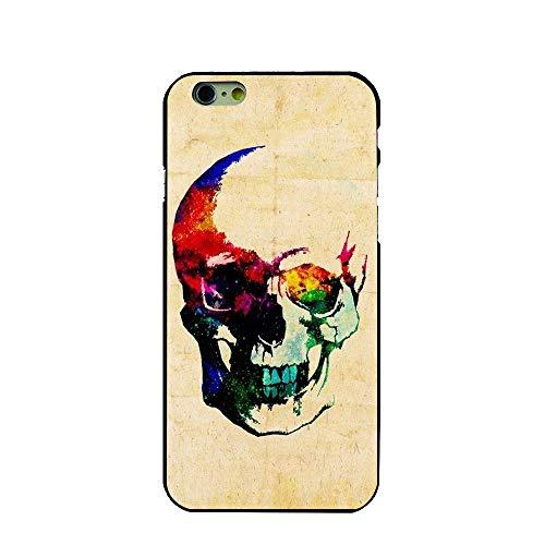 the case Schutzhülle für iPhone 7/iPhone 8, Hartschale, Skelett, Modell Totenkopf, Punk Crane, Mexikanisch, Calavera,