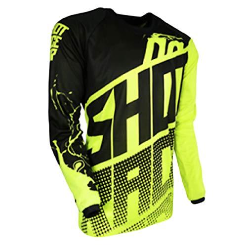 YSYFZ - Camiseta de Manga Larga para Ciclismo y Deportes de montaña, de Manga Larga, para Motociclismo y Todoterreno, para Hombre, Hombre, Color XZ17-07, tamaño XX-Large