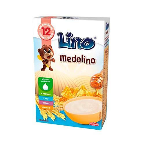 Lino Medolino mit Honig und Vanille - Getreideflocken Kindernahrung 200g Podravka